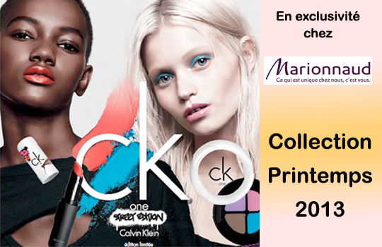 Le make-up Calvin Klein en exclusivité chez Marionnaud!