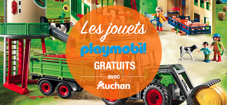 Esioox rend les jouets Playmobil gratuits !
